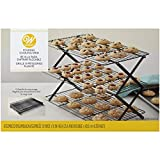 Space-constrained bakers need not worry! our folding cookie cooling rack can fit up to 3 dozen cookies in one small bit of counter space. If your countertops aren't the only limited space you're working around we've solved that, too, with a collapsib...