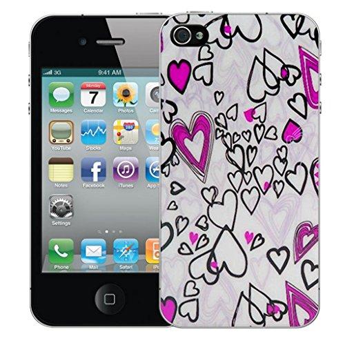 iphone 5c Dur Coque couverture Pare-chocs Case Cover - Rose love conception par Mobile Case Mate