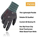 DEX FIT Lightweight Nitrile Work Gloves FN330, 3D