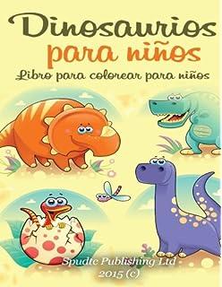 Dinosaurios para niños: Libro para colorear para niños