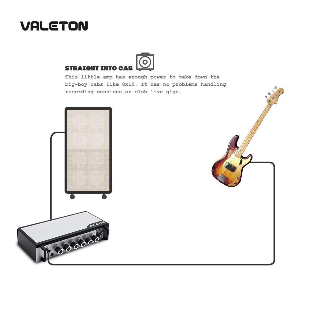 Valeton TAR-20B - Amplificador de bajo para guitarra con pedal de ...