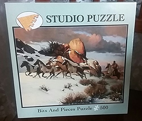 Winter Raid 500 Piece Puzzle Bits and Pieces