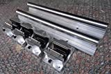 2x TBR20--1500m 20mm Fully Supported Linear Rail + 8 TBR20UU BlockbEARING