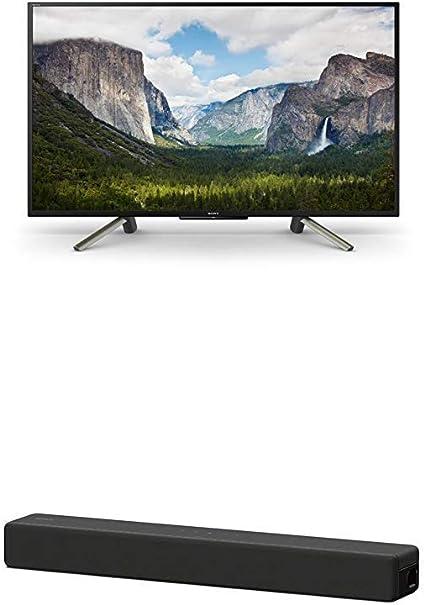 Sony Kdl 50wf665 Bravia 127 Cm 50 Zoll Fernseher Full Hd Hdr Smart Tv Plus Ht Sf200 2 1 Kanal Kompakte Tv Soundbar Home Entertainment System Hdmi Bluetooth Usb Surround Sound Schwarz Heimkino Tv