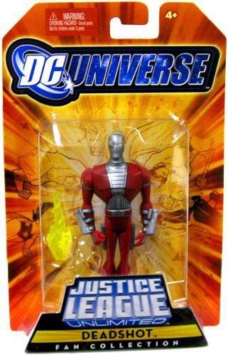 DC Universe Justice League Unlimited Fan Collection Action Figure Deadshot