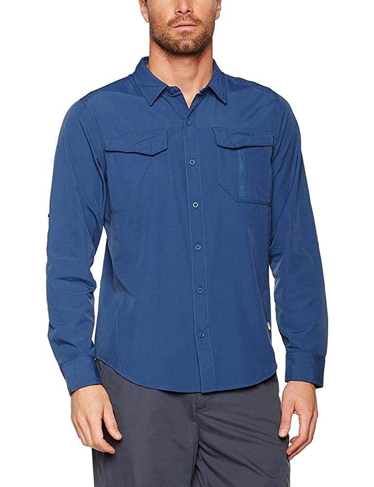 The North Face Sequoia, Camisa de manga larga, Hombre, Azul (Shady Blue), M