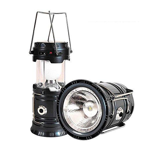 Brafuzom Solar Camping Lanterns,Solar Flashlights,Portable LED Camp light,Outdoor Waterproof Ultra Bright Rechargeable Lanterns(JY-5800T)
