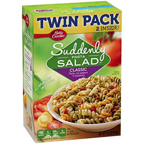 Suddenly Salad Betty Crocker Dry Meals Classic Twin Pack, 15.5 Ounce by Suddenly Salad