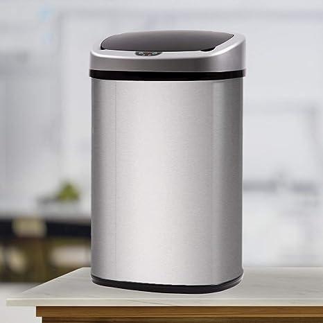 Amazon.com: BestOffice – Cacerola de basura para baño ...