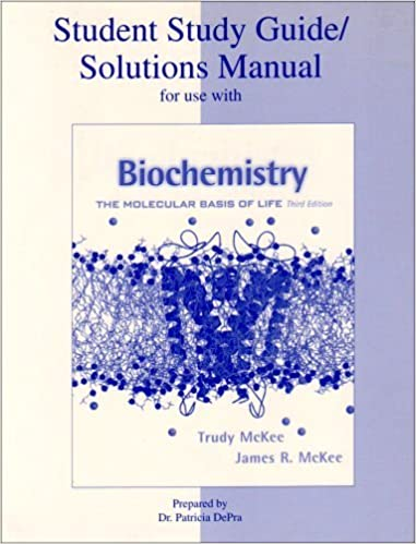 Biochemistry: The Molecular Basis of Life (Study Guide) by Trudy McKee (2002-08-09)