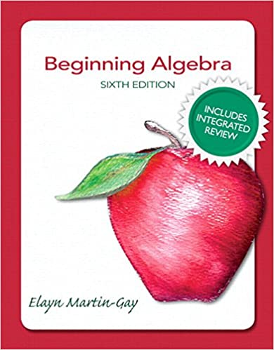 Beginning Algebra Plus NEW Integrated Review MyMathLab and ...