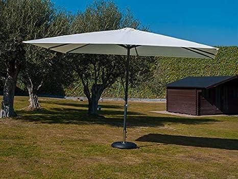 PROFER GREEN - Parasol Aluminio Beige Profer Green 3X4 M: Amazon ...