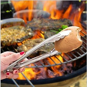 Xing Lin pinzas de cocina Pinzas de cocinaSteamed Bun Bun al vapor, Clip, ACERO
