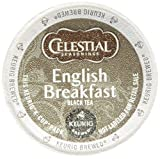 Celestial Seasonings English Breakfast Black Tea, K-Cup Portion Pack for Keurig K-Cup Brewers, 60-Count