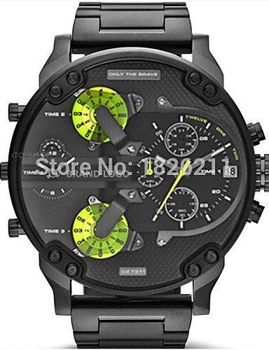 Hombre Relojes DZ7311 correa de acero relojes Vender como caliente para tartas: Amazon.es: Relojes