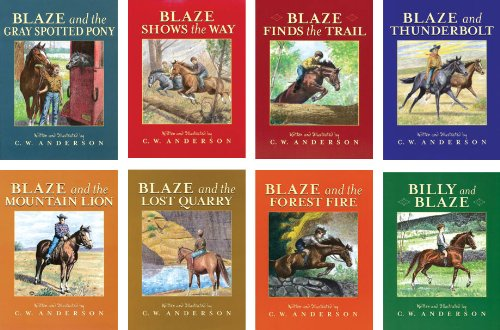 Billy and Blaze Volumes #1-#8 Set of 8 Blaze and the Forest Fire Lost Quarry Mountain Lion Thunderbolt Blaze Finds the Trail Shows the Way Gray Spotted Pony