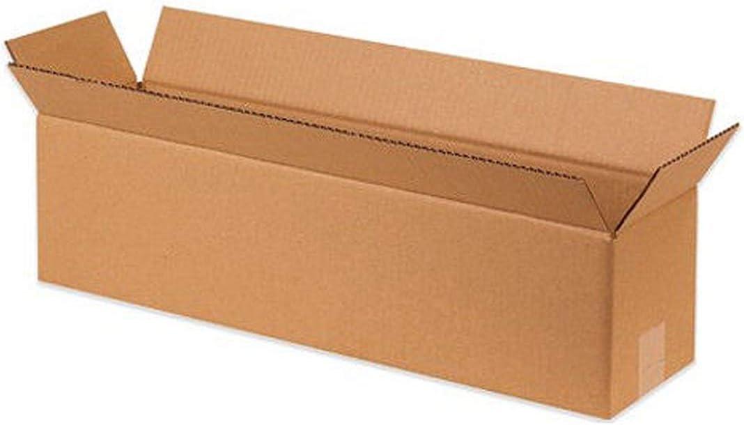 "Long Corrugated Boxes 16 x 8 x 8/"" Cardboard Shipping Box Moving Cartons 25"