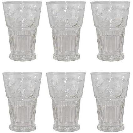 La Rochère Versailles - Juego de vasos para zumo (6 unidades, 40 cl)