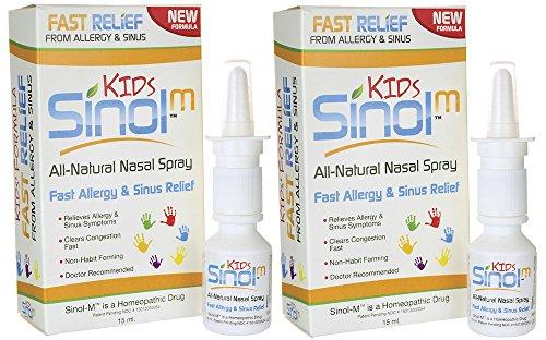 Sinol Allergy & Sinus Relief Spray - Sinol