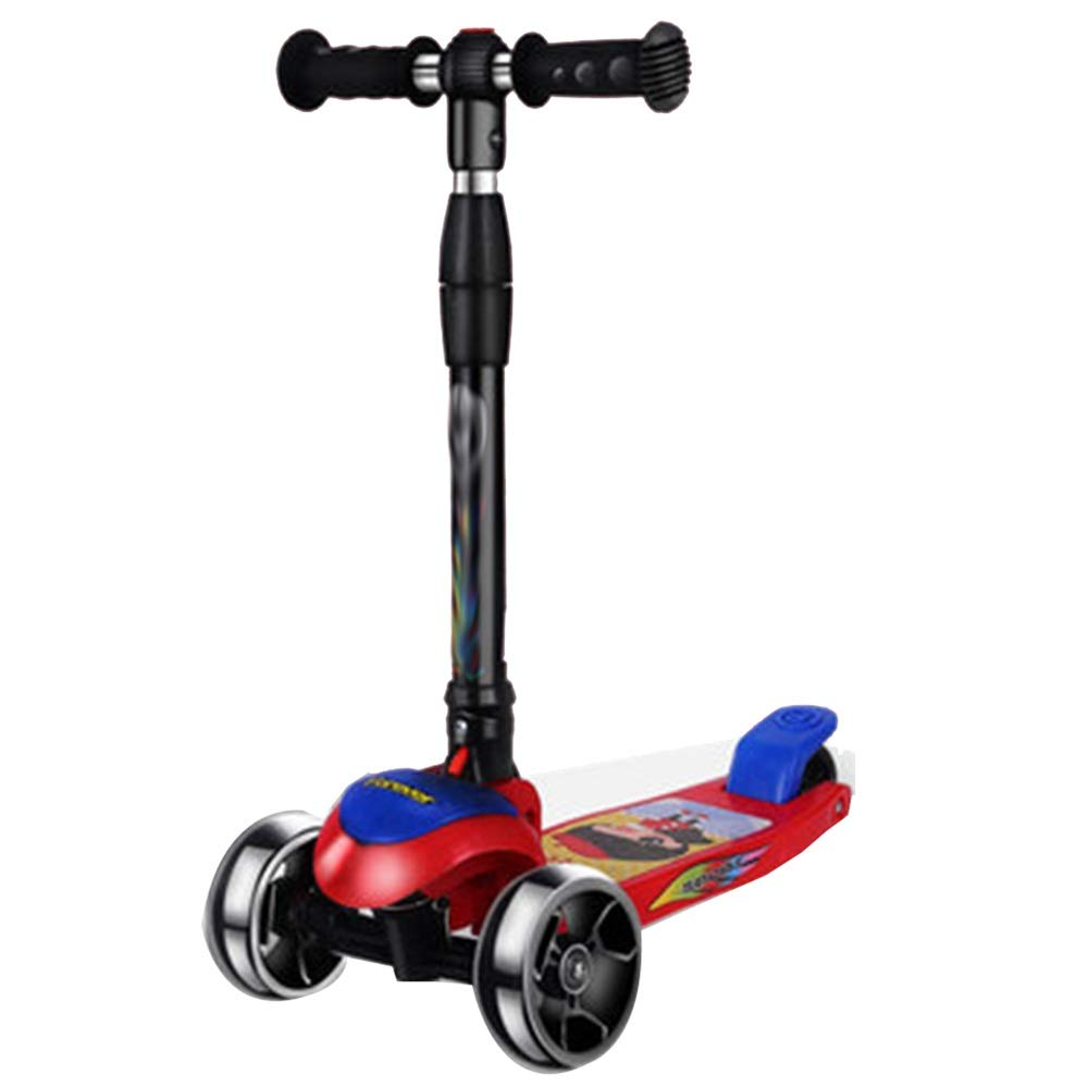 Amazon.com: YUMEIGE Kick Scooters Girls Scooter One-Click ...