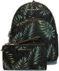 baa2c67de94278 UPC 190864410128 Michael Kors Abbey Jet Set Large Leather Backpack ...