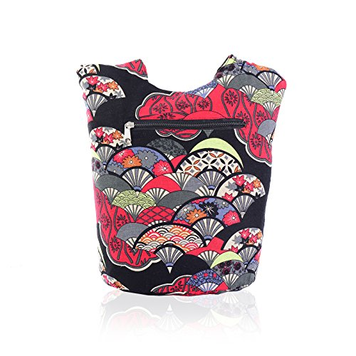 4 Exlarge Canvas Tote Messenger Womens Bag Crossbody Print Designer Ladies Design Version Shoulder 7RUdxZnU