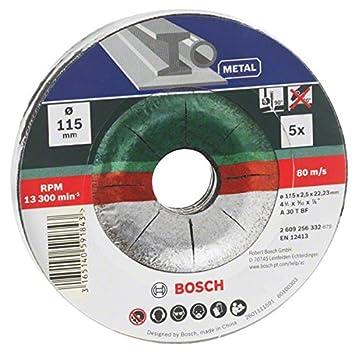 Bosch 2609256332 Diy Trennscheiben Metall 115 Mm O X 2 5 Mm Gekropft