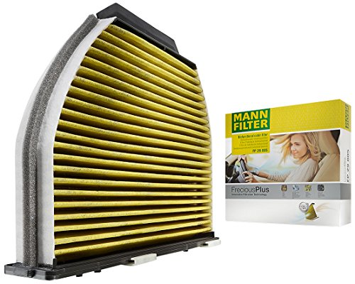 Cabin Blocks (Mann Filter FP 29 005 FreciousPlus Cabin Air Filter)