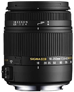 SIGMA 高倍率ズームレンズ 18-250mm F3.5-6.3 DC MACRO OS HSM キヤノン用 APS-C専用