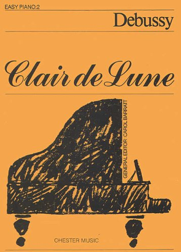 Piano No. 2 - Claude Debussy - Sheet Music (Clair De Lune Easy Piano)