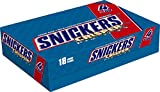 SNICKERS Crisper Sharing Size Chocolate Candy Bars 2.83-Ounce Bar 18-Count Box