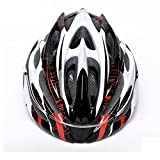 Super Light Integrally Road Bicycle Cycling Helmet With Luminous-red