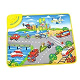 City Traffic Daily life Musical Music Touch Mat for Kids Baby Educational Carpet Toy Gift