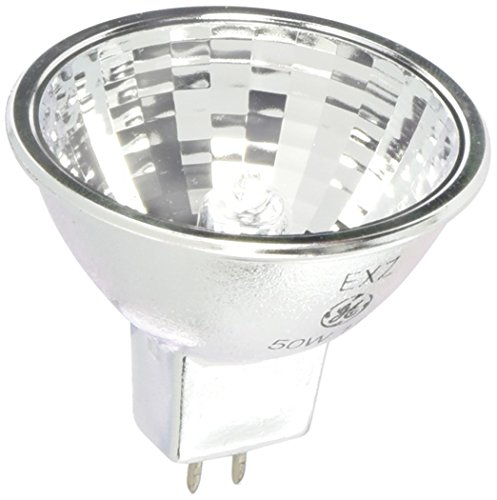 GE 20835-50 Watt Halogen Light Bulb - MR16 - Constant Color Precise - EXZ Narrow Flood - Open Face - 6,000 Life Hours - 12 (Ge Constant Color Mr16)