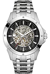 Bulova Men's Automatics - 96A170 Silver Watch