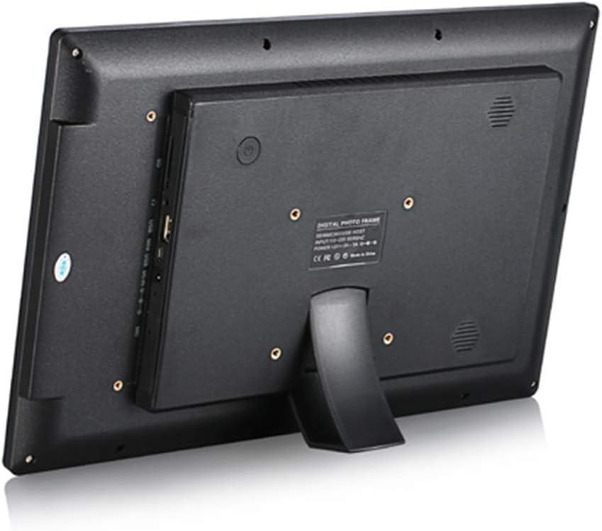 Multi-Function Digital Photo Frame Support for Calendar Alarm Function 14 Inch High Resolution Advertising Media Player with Motion Sensor Built-in Speaker