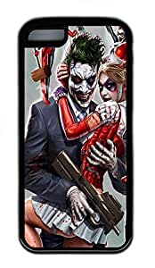 meilinF000iphone 6 4.7 inch Case Joker and Harley Quinn TPU iphone 6 4.7 inch Case Cover BlackmeilinF000