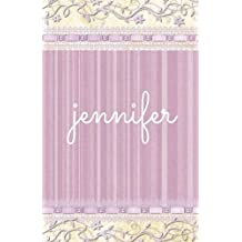 Jennifer: Personalized Journal, Name Journal, Blank Lined Diary or Notebook (Elite Journal)