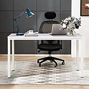 Need 120x60cm Computer Desks Office Desk Workstation Home Study Desk with BIFMA Certification, Black AC3CB-120-N