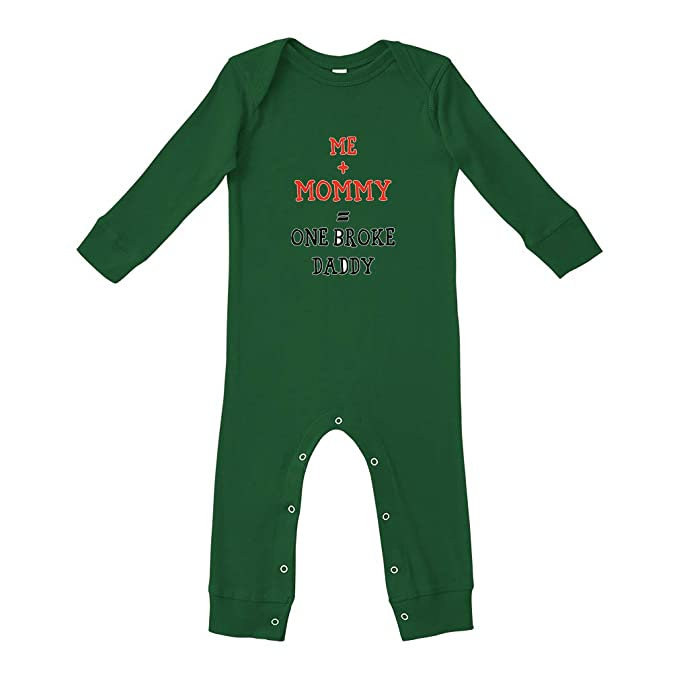 Amazon.com: Me + Mommy=Traje de daddy con patas largas ...
