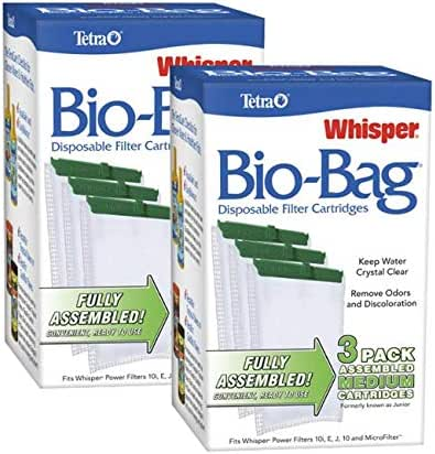 Tetra Whisper Bio-Bag Cartridge (Medium 6-Count)