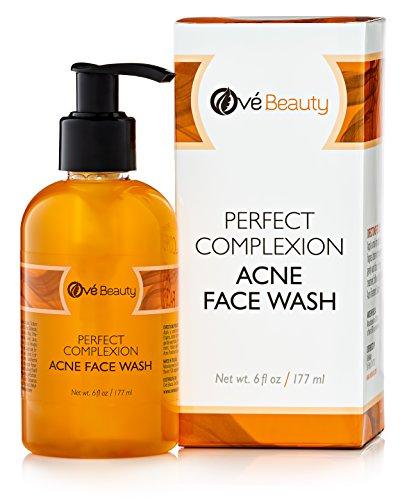 L'acné se laver le visage pour les peaux sensible & huileux. Nettoie naturellement pour traiter les taches, les boutons et points noirs. Séchage de non, Non grasse.