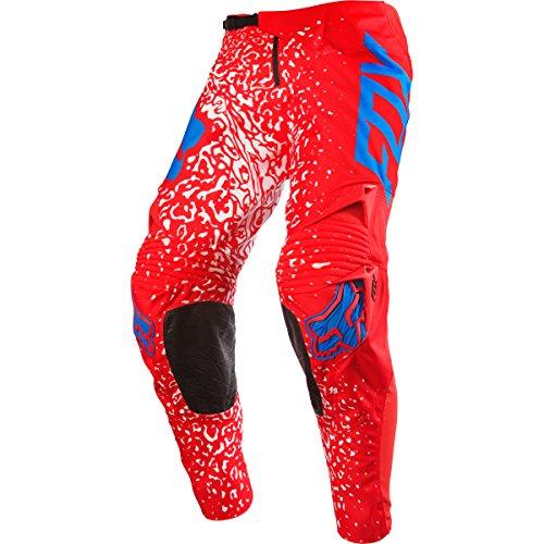 Fox Racing 360 Cauz Men's Off-Road Motorcycle Pants - Red / Size 34 ()