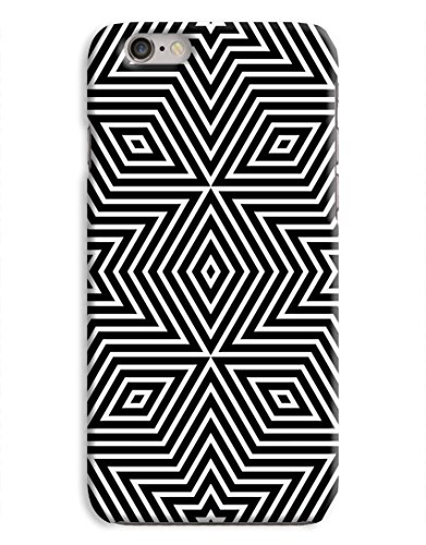 Star Kaleidoscope 3D Printed Design iPhone 6 Hard Case Protective Cover Shell
