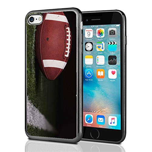 Atomic Football (Football On Field by Yard Line for iPhone 7 (2016) & iPhone 8 (2017) Case Cover by Atomic Market)
