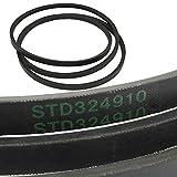 Craftsman STD324910 V-Belt, 91-in Genuine Original Equipment Manufacturer (OEM) Part for Craftsman