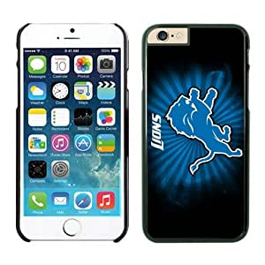 Detroit Lions iPhone 6 Cases 33 Black 4.7 inches-[Non-Slip] [Exact-Fit] Lifetime Warranty,easily install with maximum protection,Ultra Fit Hard Case Shock-Absorption Bumper with Anti-Scratch Hard Case for iphone 6