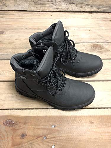 Escursioni A Pelliccia Basic Grigio Tenere Tacco Donna Angkorly Cm Foderato Rangers 3 Moda Di Scarpe Piedi Sneaker Caldo Piatto Montagna zwzqYxXRU