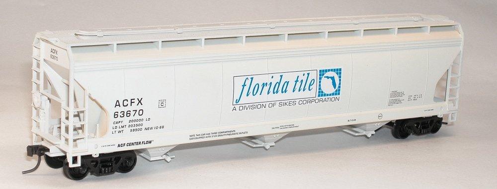 割引購入 Accurail ACU2094 HO KIT ACF Tile 3-Bay Centerflow Hopper, ACU2094 KIT Florida Tile B00ELILXUS, 素敵な:22494f12 --- a0267596.xsph.ru