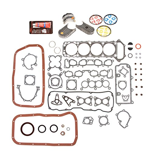 - Evergreen Engine Rering Kit FSBRR3005AEVE\0\0\0 Fits 89-97 Nissan 240SX D21 Pickup KA24E Full Gasket Set, Standard Size Main Rod Bearings, Standard Size Piston Rings
